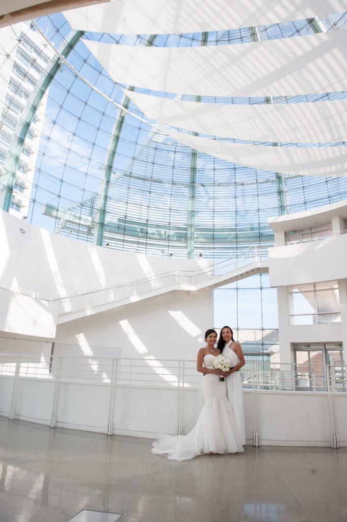 Wedding at San Jose City Hall Rotunda Andrea + Whitney5