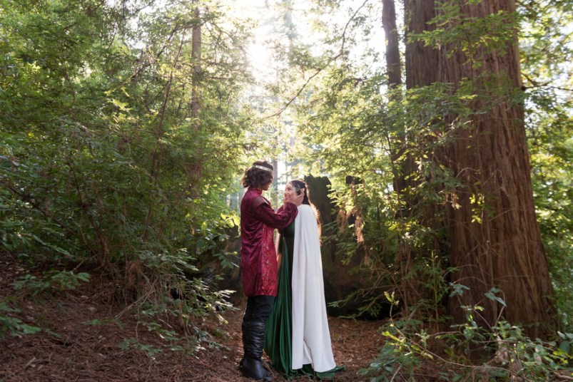 Lord of the Rings wedding of Arwen and Aragorn at Mt. Madonna by Jen Vazquez Photography1040_low