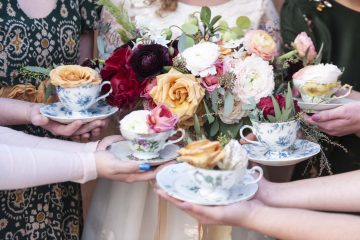 bridal tea party shower at the fitz place by jen vazquez photography
