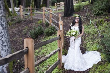 Jen Vazquez Photography wedding in the woods at Redwood Retreat at Fernwood Cellars