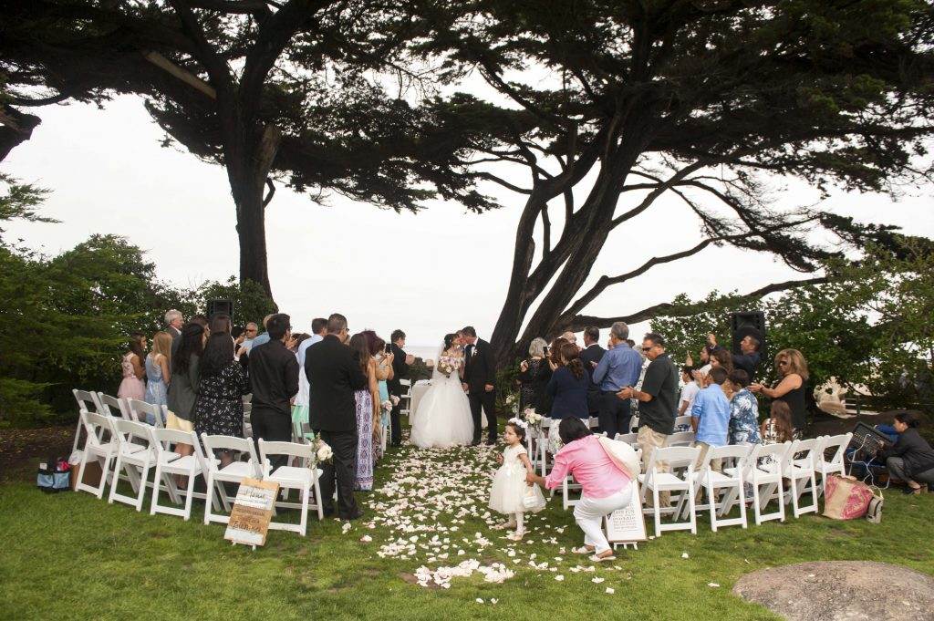 Wedding at Lover's Point in Pacific Grove - Monterey, California