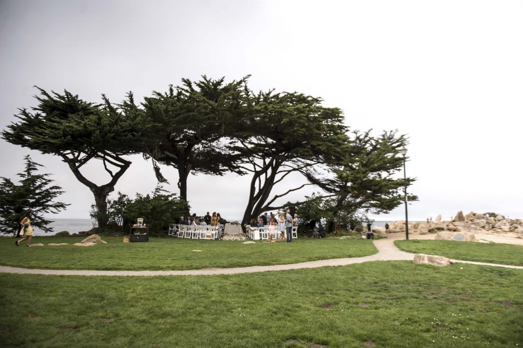 Lover's Point Park in Pacific Grove on the Monterey Peninsula
