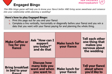 engaged bingo
