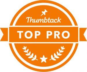 Top Pro on Thumbtack - top 3%