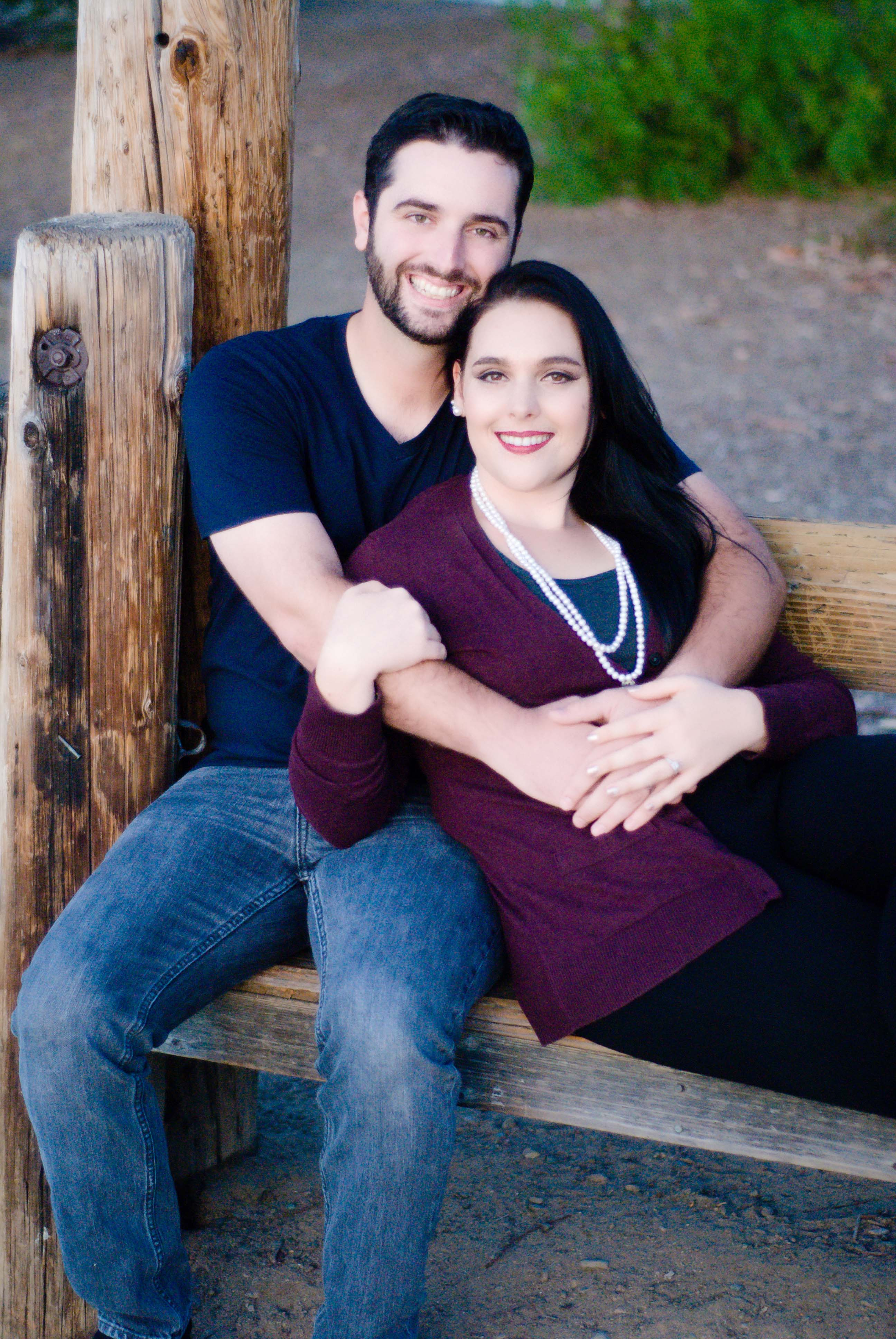 san jose engagement kimberly and shawn almaden lake